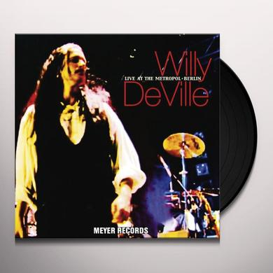 Willy Deville LIVE AT THE METROPOL - BERLIN Vinyl Record