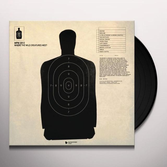 MPM 2012-WHERE THE WILD CREATURES MEET / VARIOUS Vinyl Record