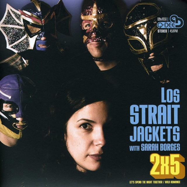 Straitjackets LET'S SPEND THE NIGHT TOGETHER / WILD ROMANCE Vinyl Record