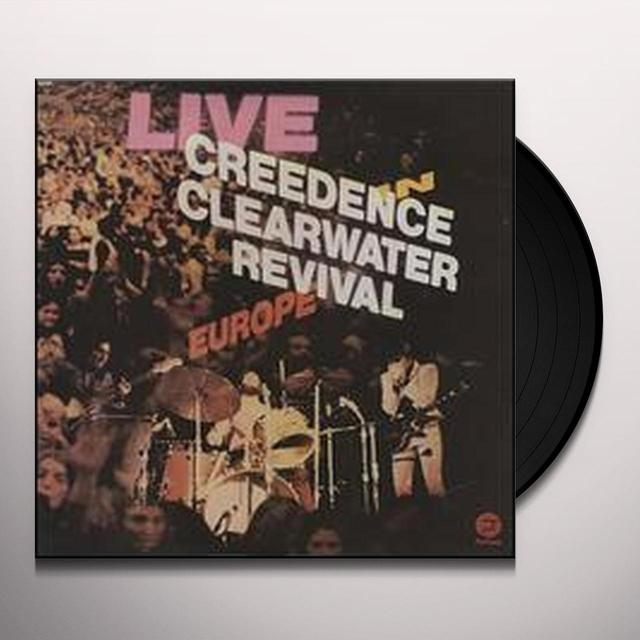 CCR ( Creedence Clearwater Revival ) LIVE IN EUROPE Vinyl Record - 180 Gram Pressing