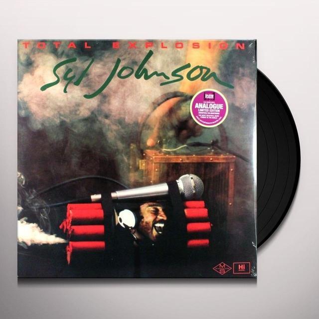 Syl Johnson TOTAL EXPLOSION Vinyl Record - 180 Gram Pressing