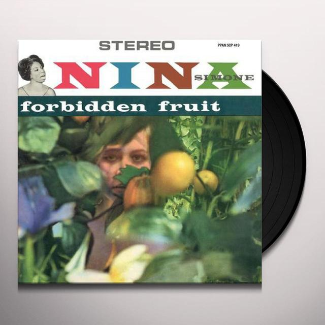 Nina Simone FORBIDDEN FRUIT Vinyl Record