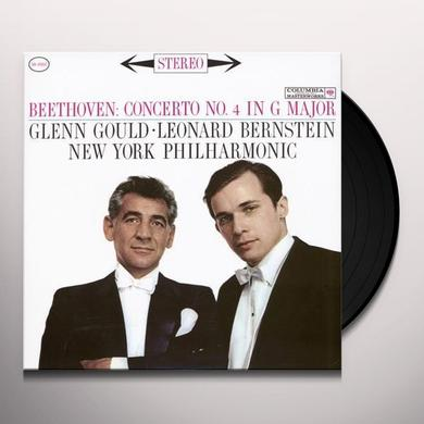 Gould / Bernstein BEETHOVEN CONCERTO NO 4 Vinyl Record