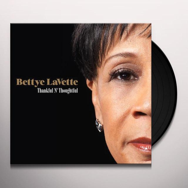 Bettye Lavette THANKFUL N THOUGHTFUL Vinyl Record