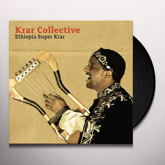 Krar Collective ETHIOPIA SUPER KRAR Vinyl Record - Digital Download Included