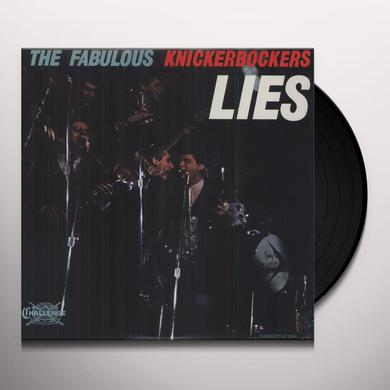 The Knickerbockers LIES Vinyl Record - 180 Gram Pressing