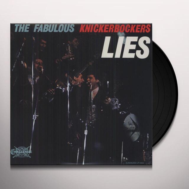 The Knickerbockers LIES Vinyl Record