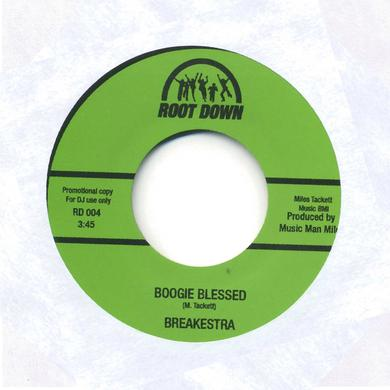 Breakestra BOOGIE BLESSED / MISS FUNKY SOLE SHAKE Vinyl Record