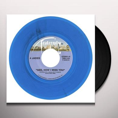 4 Jades DOON-CHANG / GEE HOW I MISS YOU Vinyl Record