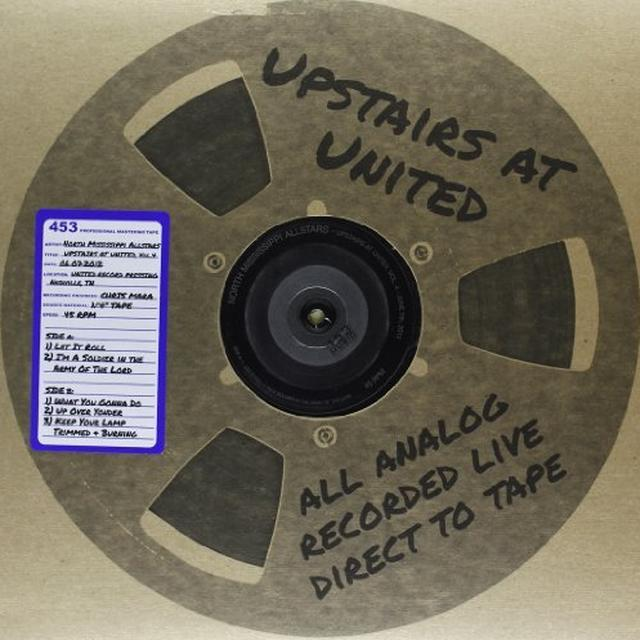 North Mississippi Allstars UPSTAIRS AT UNITED 4 ( 06/7/2012 ) Vinyl Record