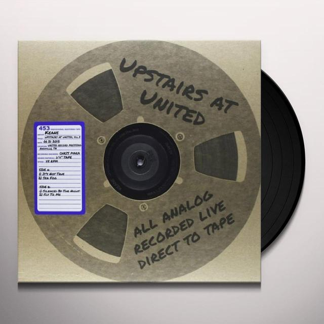 Keane UPSTAIRS AT UNITED 5 ( 06/21/2012 ) Vinyl Record