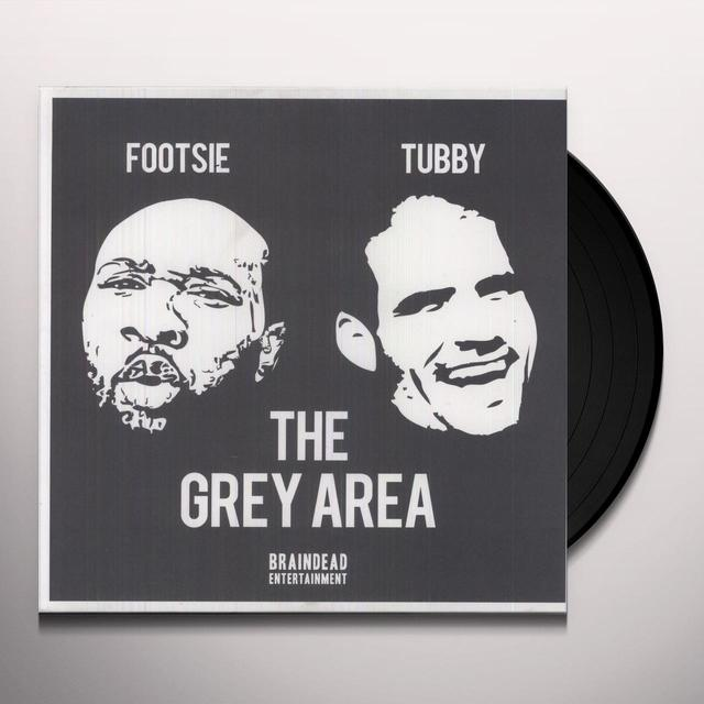 Footsie & Dj Tubby GREY AREA Vinyl Record