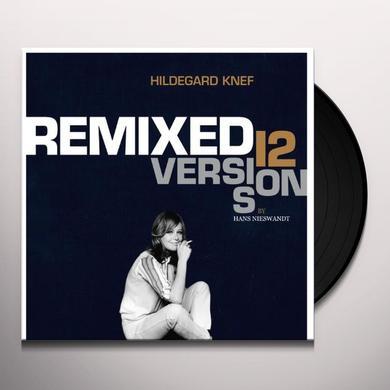Hildegard Knef REMIXED: 12 VERSIONS BY HANS NIESWANDT Vinyl Record