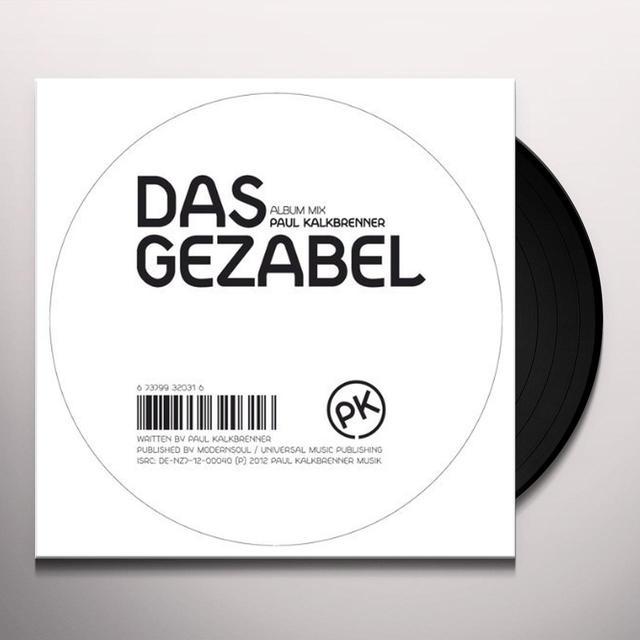 Paul Kalkbrenner DAS GEZABEL (EP) Vinyl Record
