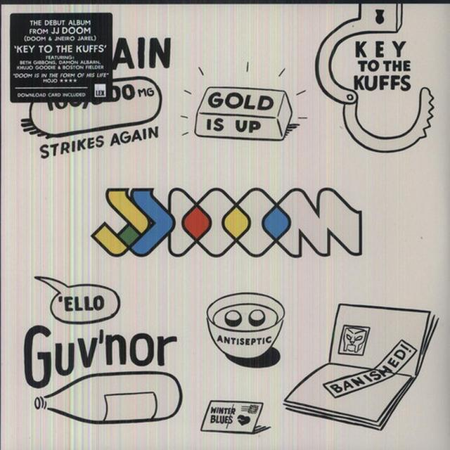 Jj Doom KEY TO THE KUFFS Vinyl Record - Deluxe Edition