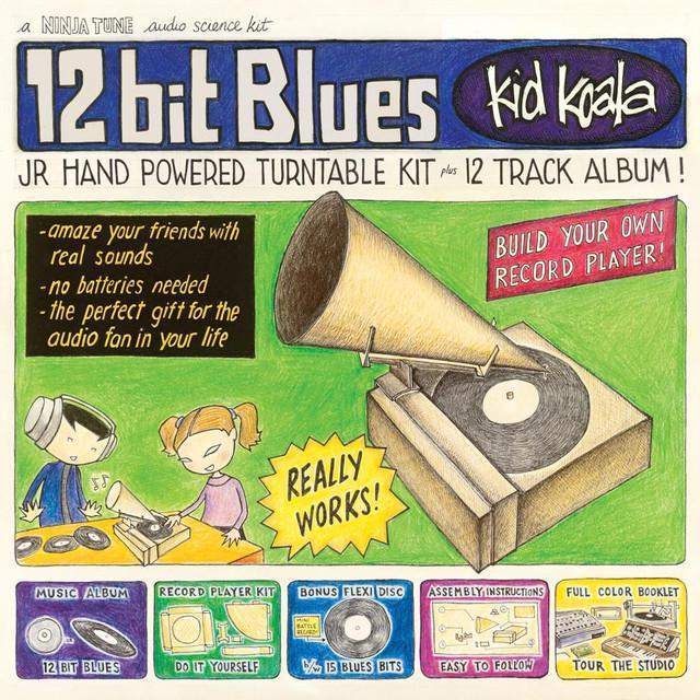 Kid Koala 12 BIT BLUES Vinyl Record