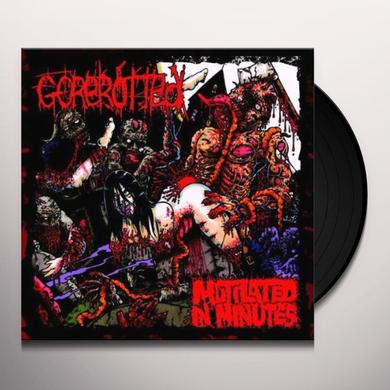 Gorerotted MUTILATED IN MINUTES Vinyl Record