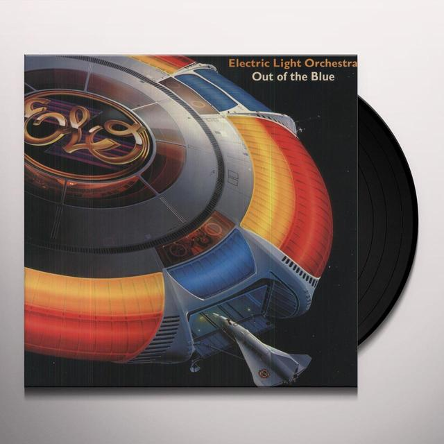 Elo ( Electric Light Orchestra ) OUT OF THE BLUE Vinyl Record - Canada Import