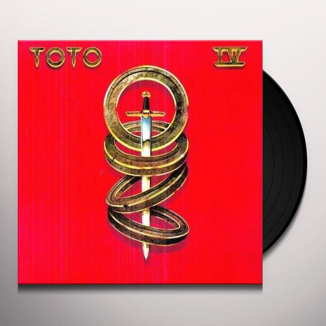 Toto IV Vinyl Record - 180 Gram Pressing