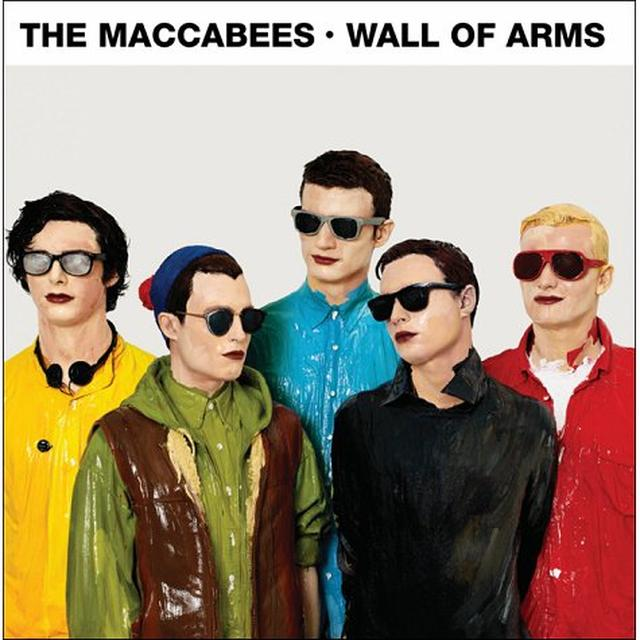 The Maccabees WALL OF ARMS Vinyl Record