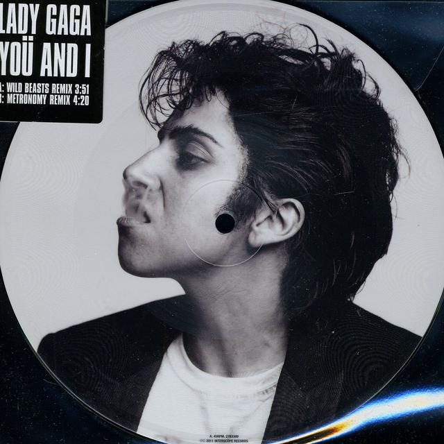 Lady Gaga YOU & I Vinyl Record