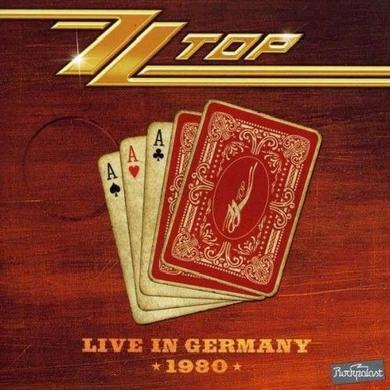 ZZ Top LIVE IN GERMANY 1980 Vinyl Record