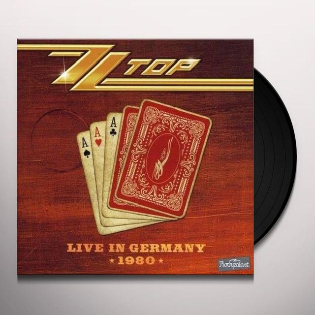 ZZ Top LIVE IN GERMANY 1980 Vinyl Record