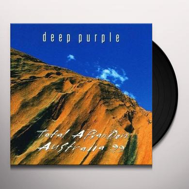 Deep Purple TOTAL ABANDON: AUSTRALIA 99 Vinyl Record - 180 Gram Pressing