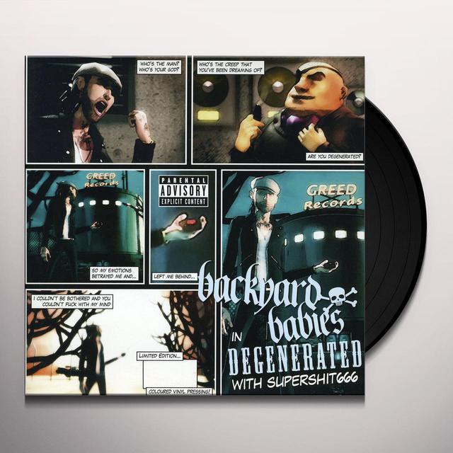Backyard Babies DEGENERATED Vinyl Record