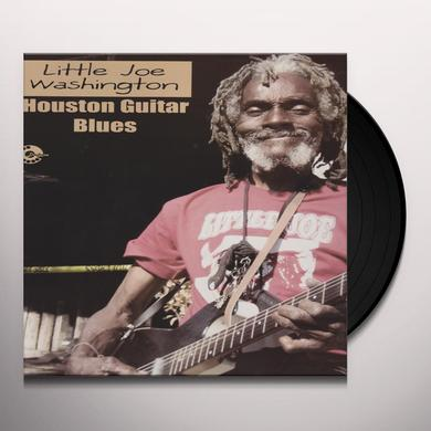 Little Joe Washington HOUSTON GUITAR BLUES Vinyl Record