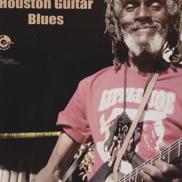 Little Joe Washington HOUSTON GUITAR BLUES Vinyl Record