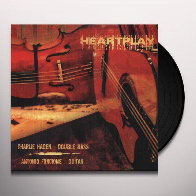 Charlie Haden / Antonio Forcione HEARTPLAY Vinyl Record