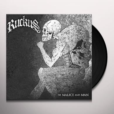 Ruckus OF MALICE & MAN Vinyl Record
