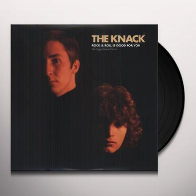 Knack ROCK & ROLL IS GOOD FOR YOU Vinyl Record