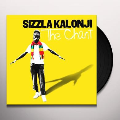Sizzla CHANT Vinyl Record - w/CD