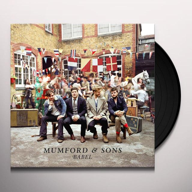 Mumford & Sons BABEL Vinyl Record