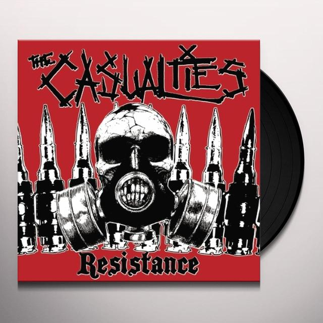 The Casualties RESISTANCE (Vinyl)