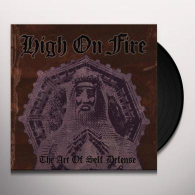 High On Fire ART OF SELF DEFENSE Vinyl Record - Deluxe Edition