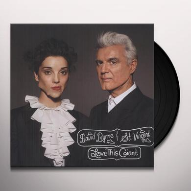 David Byrne & St Vincent LOVE THIS GIANT Vinyl Record