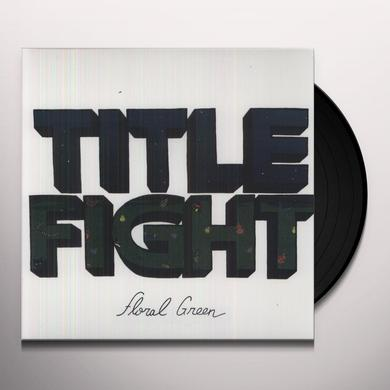 Title Fight FLORAL GREEN Vinyl Record - MP3 Download Included
