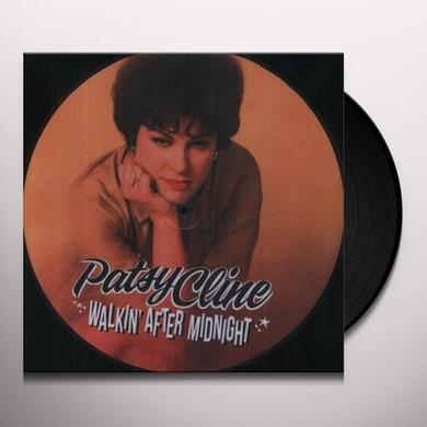 Patsy Cline WALKIN AFTER MIDNIGHT Vinyl Record - Limited Edition, Picture Disc