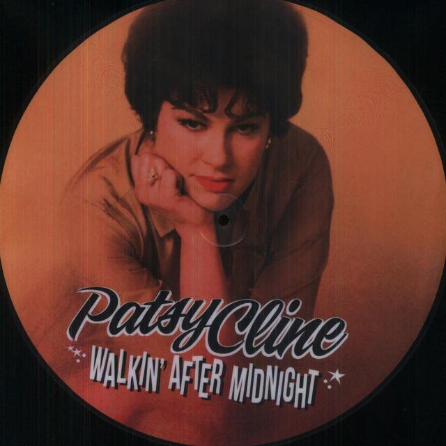 Patsy Cline WALKIN AFTER MIDNIGHT Vinyl Record