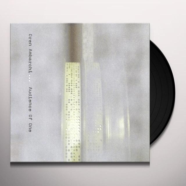 Oren Ambarchi AUDIENCE OF ONE Vinyl Record