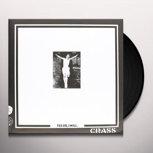 Crass YES SIR I WILL Vinyl Record - Reissue