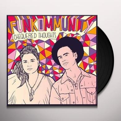 Funkommunity CHEQUERED THOUGHTS Vinyl Record