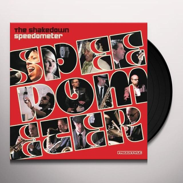 Speedometer SHAKEDOWN (Vinyl)