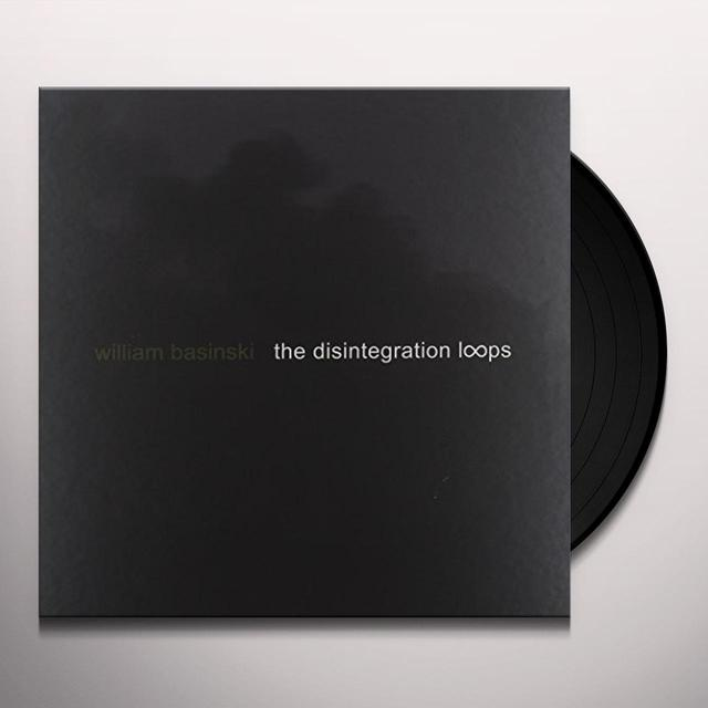 William Basinski DISINTEGRATION LOOPS  (W/DVD) (W/BOOK) Vinyl Record - w/CD