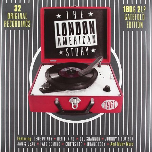 LONDON AMERICAN STORY 1961 / VARIOUS Vinyl Record - UK Import