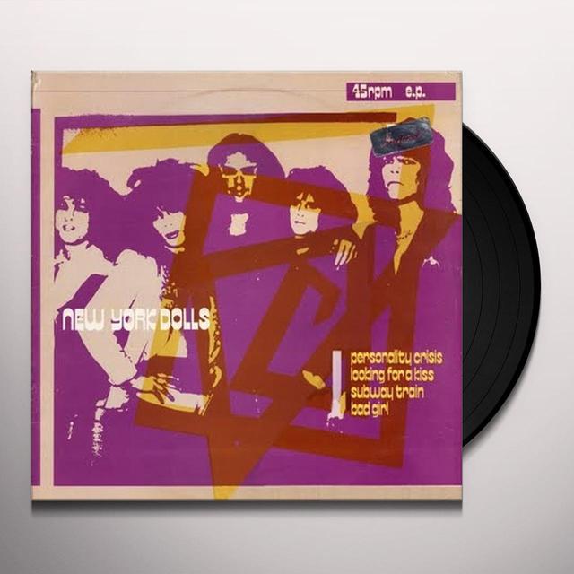 New York Dolls PERSONALITY CRISIS Vinyl Record