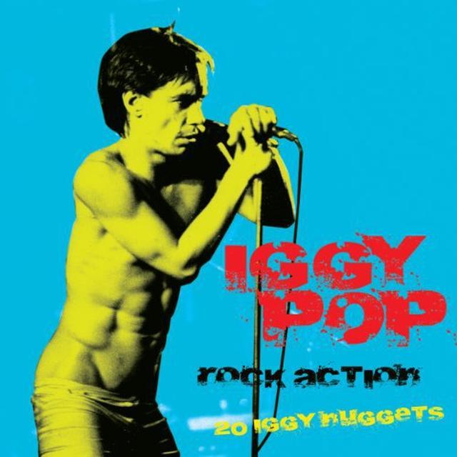 Iggy Pop ROCK ACTION Vinyl Record
